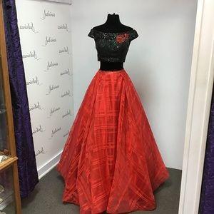Clarisse 3580 Black/Red size 6